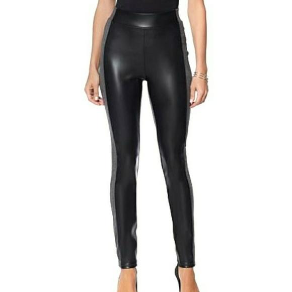 b79b320e1868b Diane Gilman Pants   Dg2 By Faux Leather Ponte Legging   Poshmark